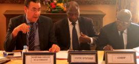 Photos : signature de la Convention de financement avec la COMHAFAT