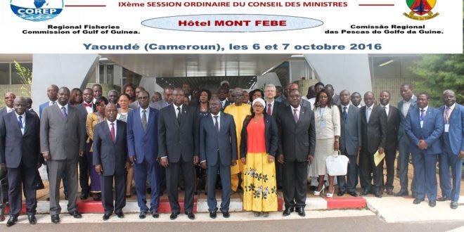 9ème Session ordinaire du Conseil des Ministres de la Commission Régionale des Pêches du Golfe de Guinée (COREP)