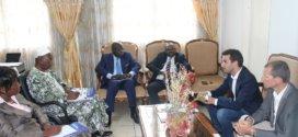 Audience accordée à Monsieur Hamza SABOUNJI, Représentant Régional de la société CLS (Collecte – Localisation – Satellites) – Photos