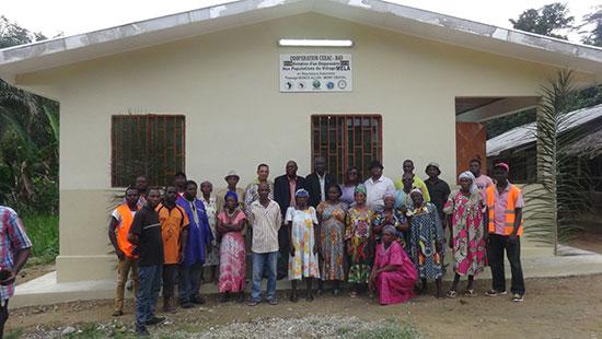 Inauguration et rétrocession des ouvrages réalisés par la CEEAC au Gabon